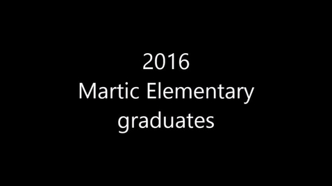 Thumbnail for entry 6th grade recognition