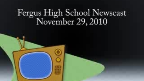 Thumbnail for entry 11-29-2010 Newscast