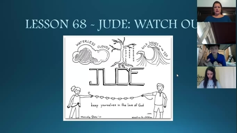 Thumbnail for entry Bible 7A/7C - Lesson 68 - Jude