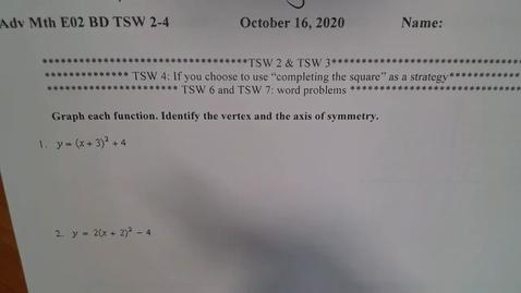 Thumbnail for entry Adv Mth E02 Practice Test TSW 2