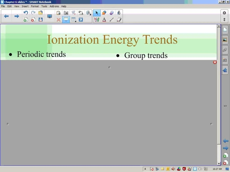 Stephens Chemistry 10 23 13 6 3 Continued Trends Of The