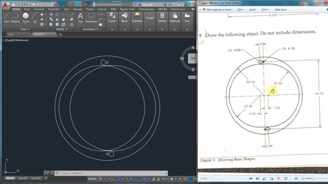 Thumbnail for entry AutoCAD LESSON 3H-5