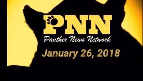 Thumbnail for entry PNN January 26, 2018