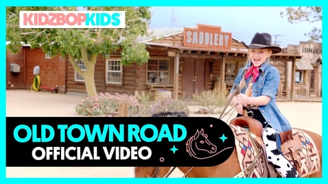 Thumbnail for entry KIDZ BOP Kids - Old Town Road (Official Music Video)
