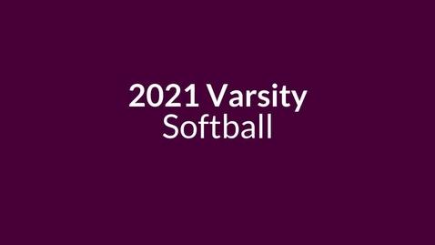 Thumbnail for entry 2021 Softball