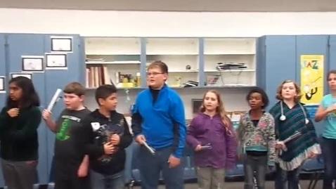 "Thumbnail for entry 13-14 Mr. Mahoney's 5th grade class ""Jingle Bells"""
