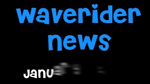 Thumbnail for entry Waverider News 1-24-11