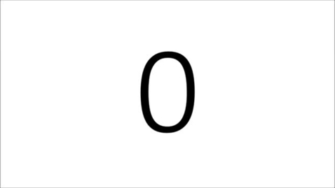 Thumbnail for entry Apprendre à compter jusqu'à 40