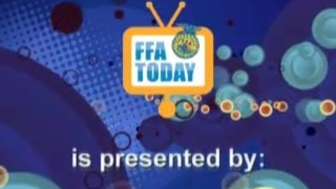 Thumbnail for entry FFA Today (10.28..09) - A visit to WB Saul High School in Philadelphia and an interview with a social media-savvy chapter from Indiana.