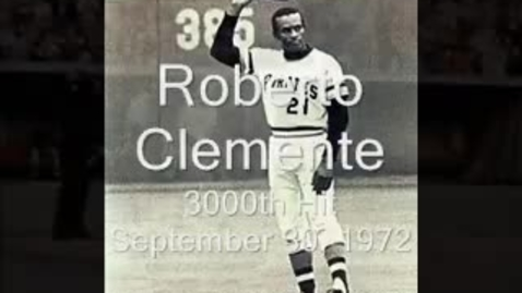 Thumbnail for entry Roberto Clemente 3,000th Hit