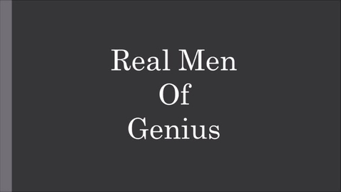 Thumbnail for entry Real Men of Genius