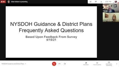 Thumbnail for entry NYSDOH Guidance-GICSD Plans Forum 4-15-2021