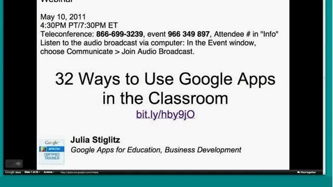 Thumbnail for entry 32 Features of Google Docs