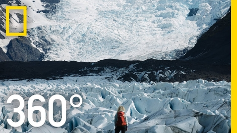 Thumbnail for entry Iceland's Glaciers - 360 | Into Water