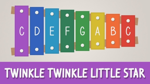 Thumbnail for entry How to play Twinkle Twinkle Little Star on a Xylophone - Easy Songs - Tutorial
