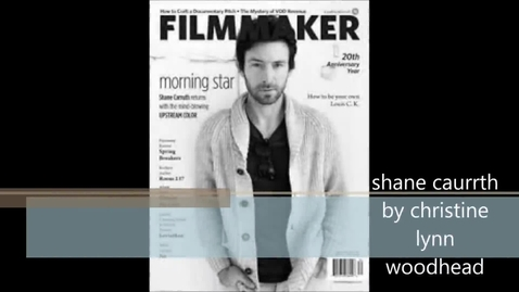 Thumbnail for entry Shane Carruth - Engineer
