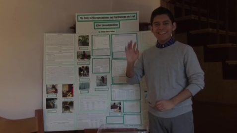 Thumbnail for entry Pablo FloresNorth Quincy High -  State Science Fair