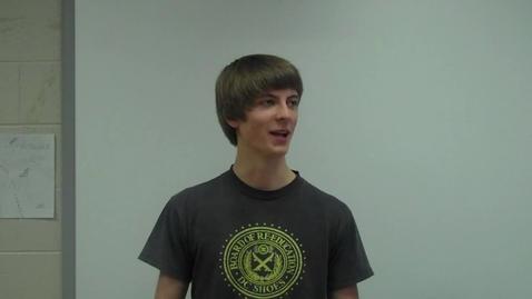 Thumbnail for entry Spring 2012 -- Motivational Speech -- Jared Ceplo -- Mr. Gilbert's class