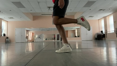 Thumbnail for entry JUMP rope feet patterns with T Alex