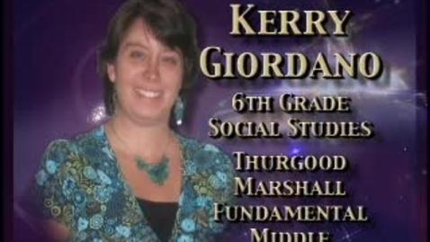 Thumbnail for entry Kerry Glordano-Teacher profile
