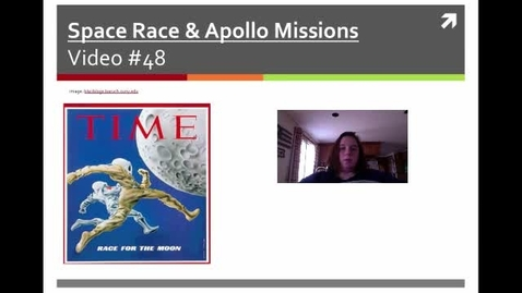 Thumbnail for entry Burke Video #48 Space Race
