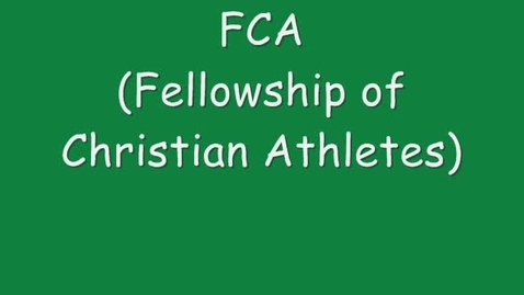 Thumbnail for entry FCA