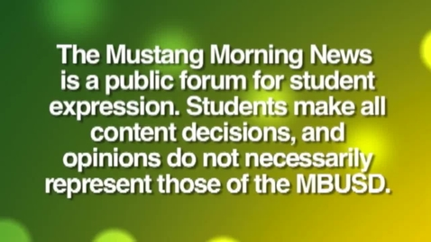Thumbnail for entry Mustang Morning News Pacemaker Submission 2014