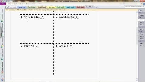 Thumbnail for entry 3.1&2 Box Method Basics