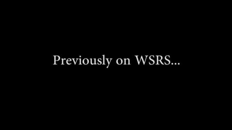 Thumbnail for entry WSRS Pt. 2 - WSCN (Sem 2 2017)
