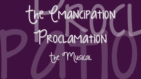 Thumbnail for entry Emancipation Proclamation