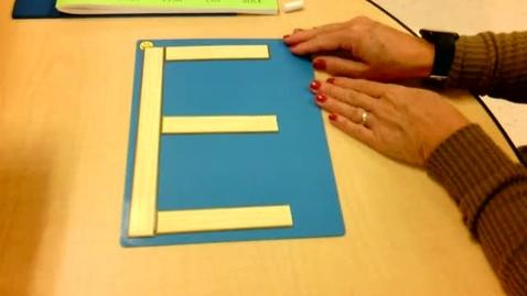 Thumbnail for entry Handwriting: Letter E