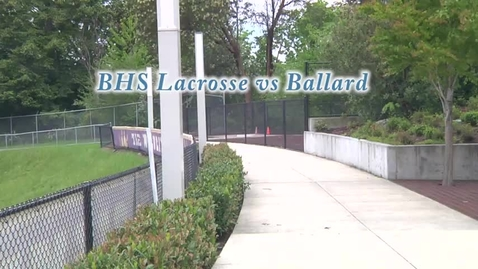 Thumbnail for entry Lacrosse Announceemnt