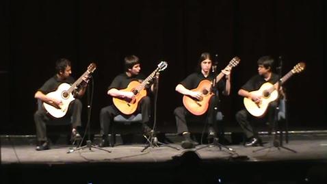 Thumbnail for entry Sophomore Guitar Quartet-Dreadlocked