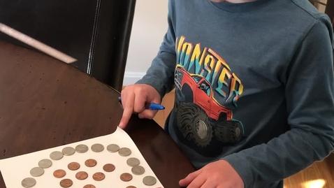 Thumbnail for entry Gavin's Coin Art!