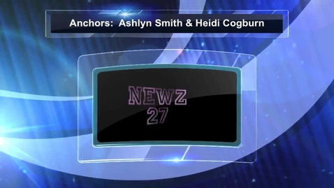 Thumbnail for entry Newz 27 Walsh High School 2-1-13
