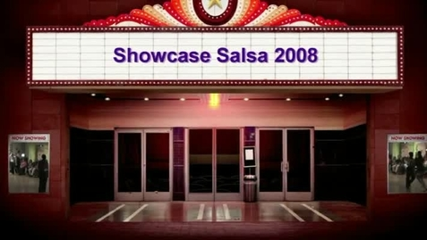 Thumbnail for entry Showcase Salsa 2008