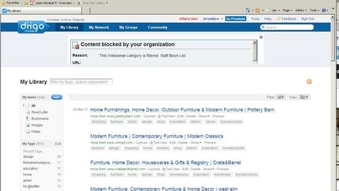 Thumbnail for entry Diigo Toolbar