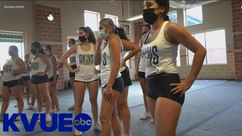 Thumbnail for entry Behind the Poms: Akins High School Varsity Cheer | KVUE