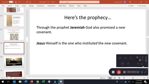 Thumbnail for entry PROPHECIES!  What are the odds?