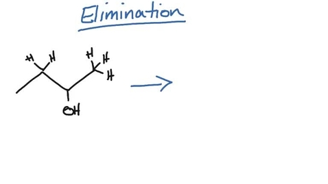 Thumbnail for entry Organic Reactions - Elimination