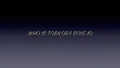 Thumbnail for entry Tobiloba Boyejo