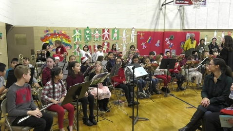 Thumbnail for entry Wollaston Elementary Holiday Concert 2019