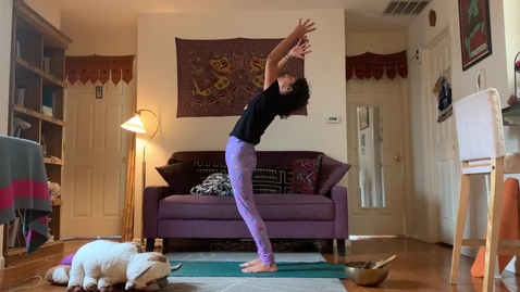 Thumbnail for entry Yoga Class with T Sheena Week2 partA