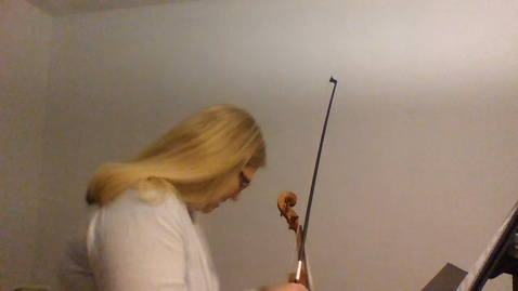 Thumbnail for entry 8th GR Violin Solo La Rejouissance
