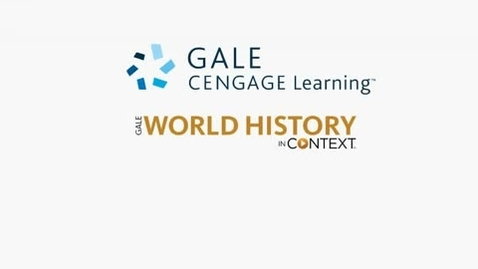 Thumbnail for entry World History In Context