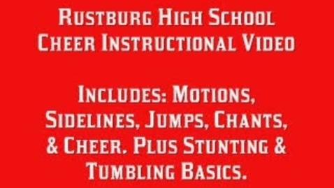 Thumbnail for entry Rustburg High School Cheerleading Sidelines