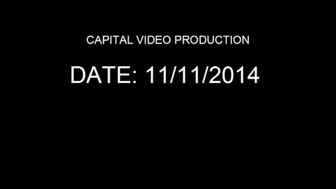 Thumbnail for entry Announcements November 11th 2014