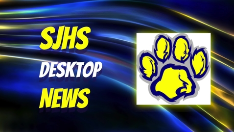 Thumbnail for entry SJHS News 11.9.20