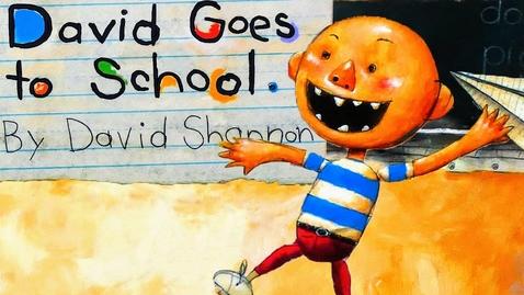 Thumbnail for entry DAVID GOES TO SCHOOL | CHECK DAVID'S MATH | KIDS BOOK READ ALOUD | DAVID SHANNON