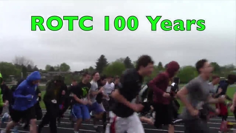 Thumbnail for entry ROTC 100 Year Run